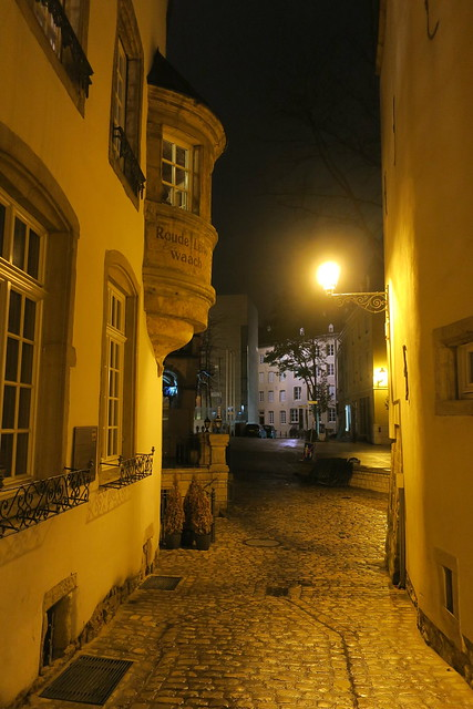 Luxembourg by night-Ruelle
