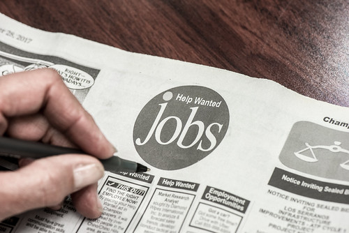 Newspaper -  Jobs, Classified Ads | by amtec_photos