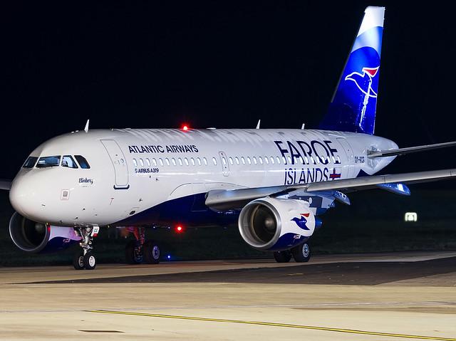 Atlantic Airways | Airbus A319-115 | OY-RCG