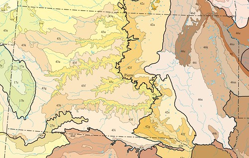 US Level IV Ecoregions - South Dakota | by ForgottenRoadsMX
