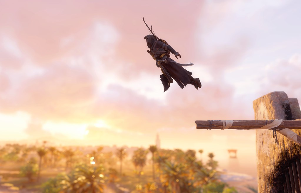 Leap Of Faith Assassin S Creed Origins It S Just Amazing Flickr