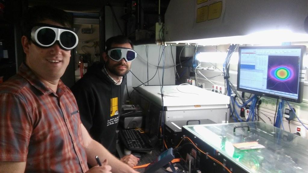 University of Hohenheim researchers during LAFE