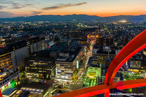 Kyoto desde la Kyoto Tower | by Millán