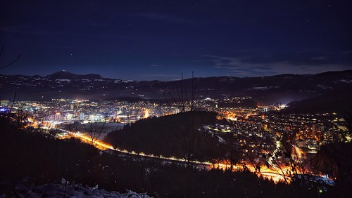 velenje koželj hometown night nightview lights citylights cityoflights landscape outdoor
