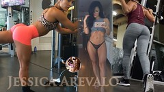 Jessica Arevalo   How to Lift Glutes? Workouts & Exercises, FITNESS, Pump BUTT.