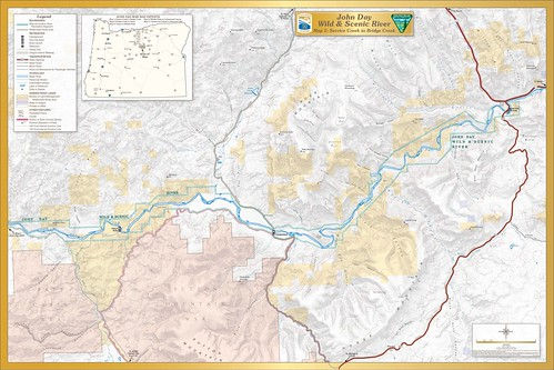 John Day Wild and Scenic River -- Map 1 | by BLMOregon