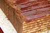 Die legendäre Doboschtorte, eine vielschichtige Bisquite-Schoko-Buttercreme Geschichte