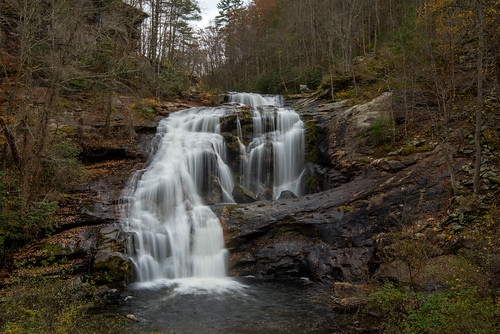 tennessee waterfall baldriver water fall november tellico