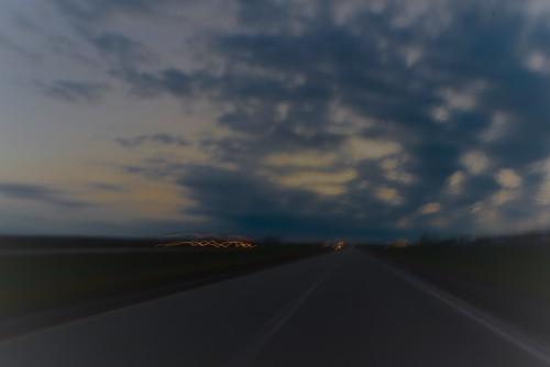 highway roadtrip sunset