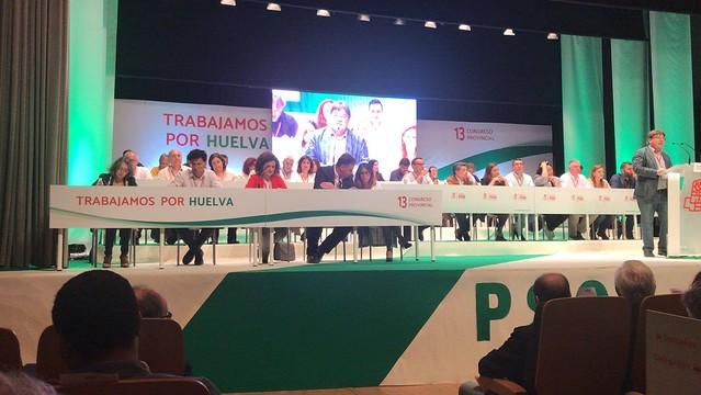 13º Congreso Provincial del Psoe en Huelva