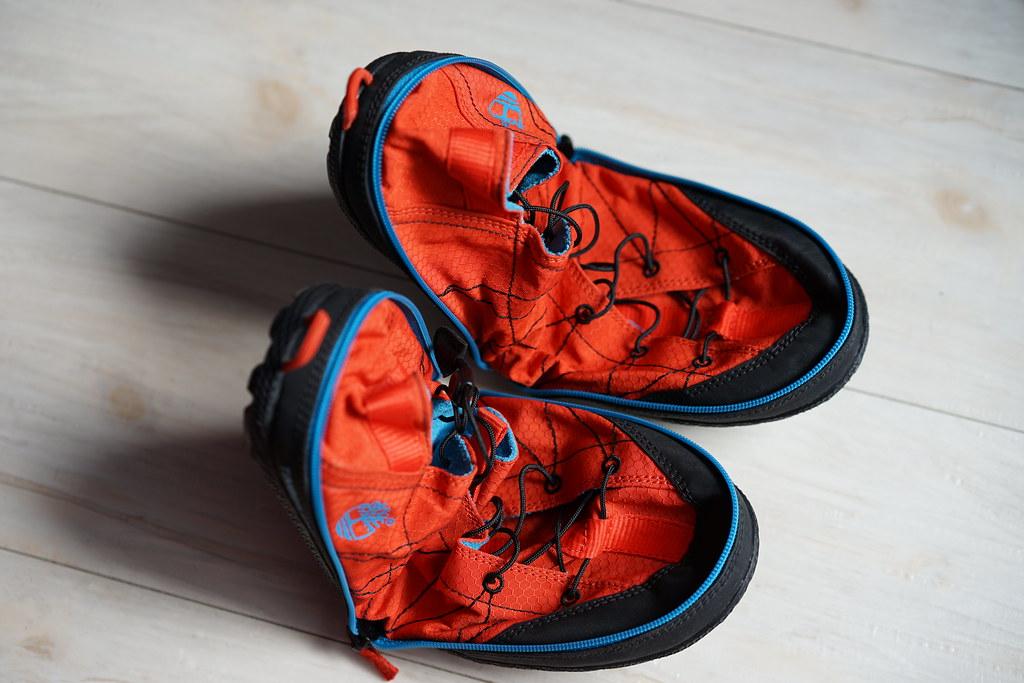 ティンバーランド_折りたためる靴6
