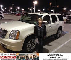 #HappyBirthday to Gayle from Eric Dotson at McKinney Buick GMC!