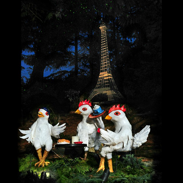 3 french hens . . .