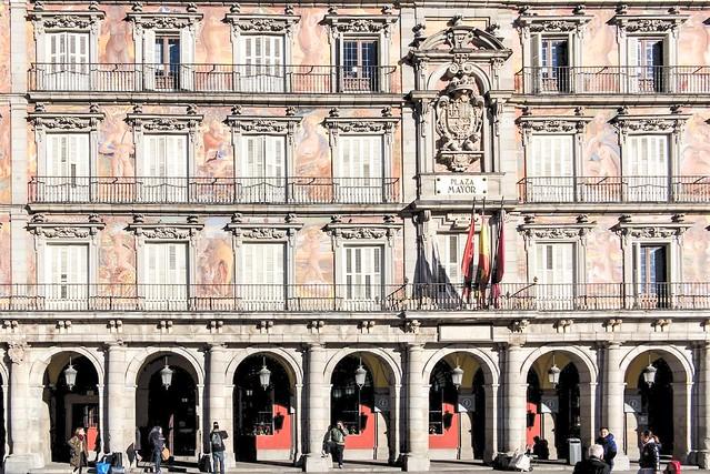 Plaza Major, Madrid.