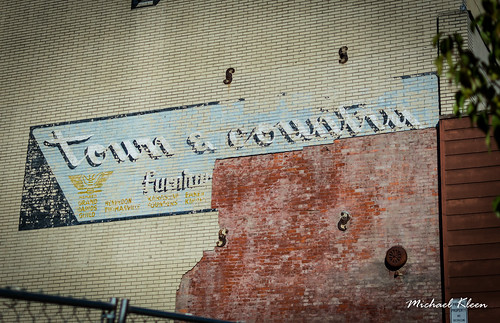 Town & Country Ghost Sign