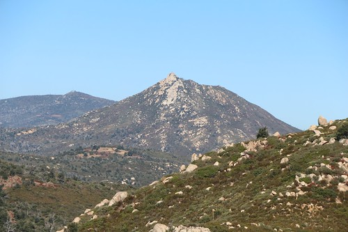 083 Zoomed-in view of Stonewall Peak from the Upper Descanso Creek Trail | by _JFR_