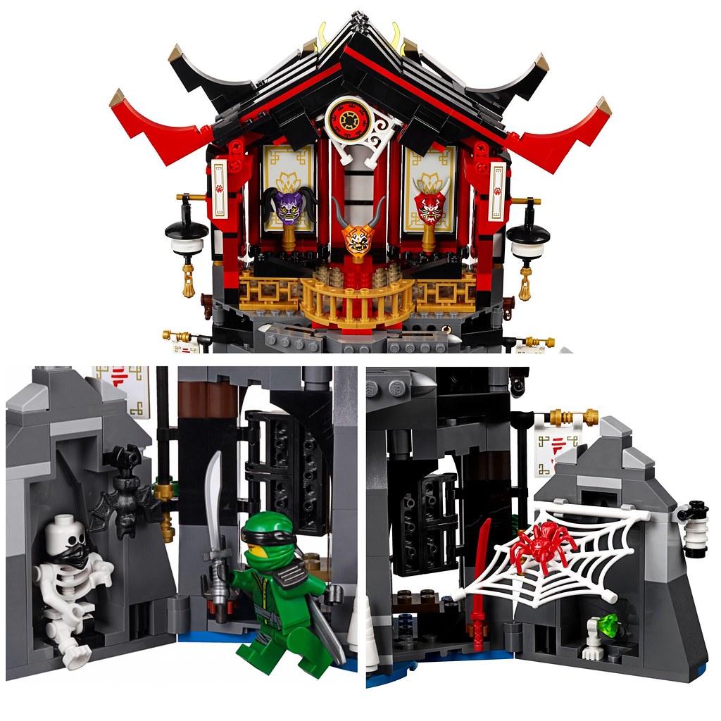 LEGO NinjaGO 70643 TEMPLE of RESURRECTION   Penciller Zero
