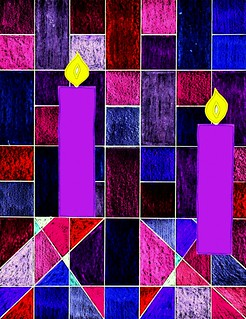 Advent 2 candles