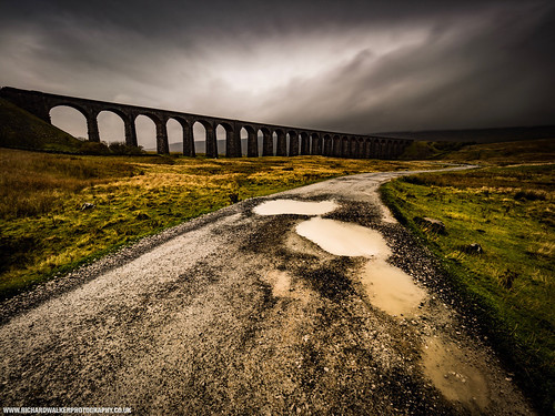 bridge clouds landscape nature ribblehead stormy viaduct yorkshiredales landscapephotography mountains