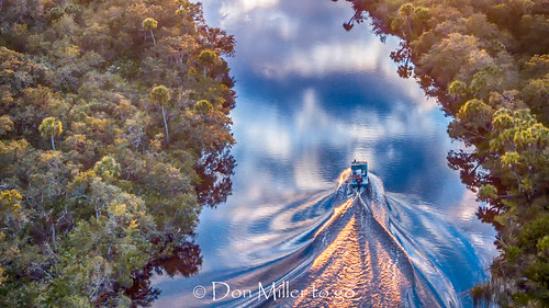 mavicpro myakkariver river nature water sky boat aerial reflection outdoors florida venice unitedstates us