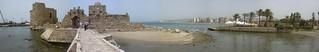 Sidon, Kreuzritterseefestung