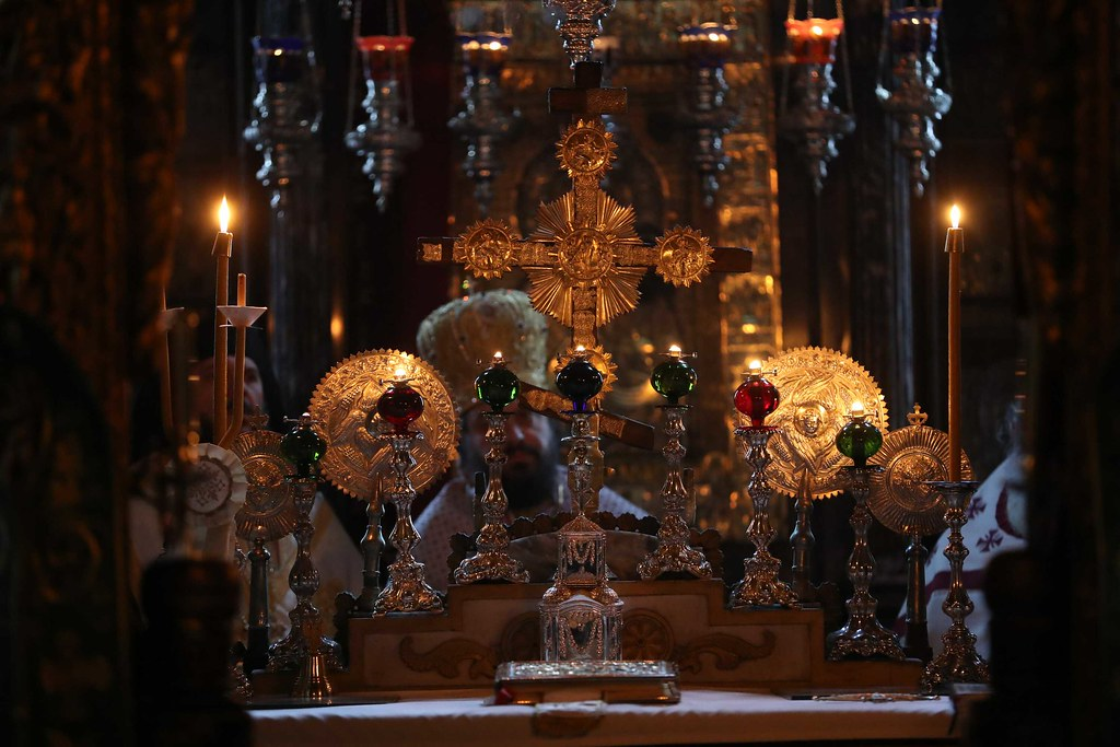 31 декабря 2017, Литургия в соборном храме Ватопеда в праздник св. Модеста / 31 December 2017, Liturgy in the Catholicon of Vatopedi on the feast of St. Modestus