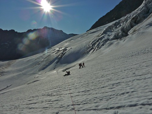 Urner Alpen, gletsjertocht