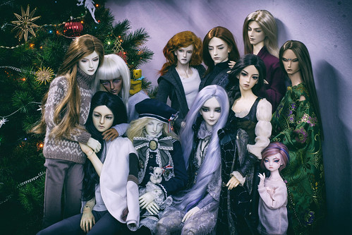 My BJD family 2017 | by Slightly elvish