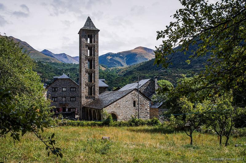 Iglesia románica de Santa Eulàlia d'Erill la Vall