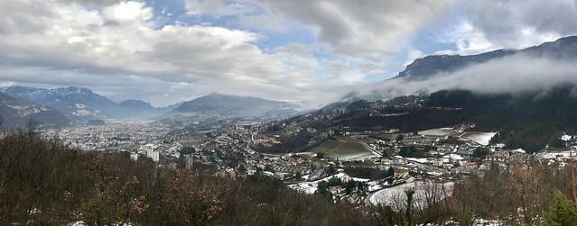 2018/365/008: Trento from Bosco Della Città