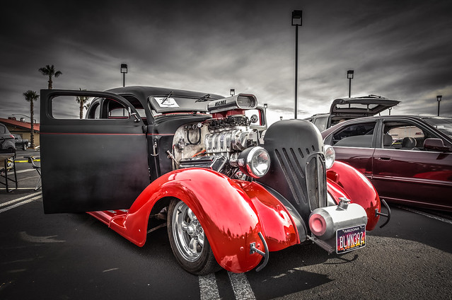 Supercharged Hot Rod