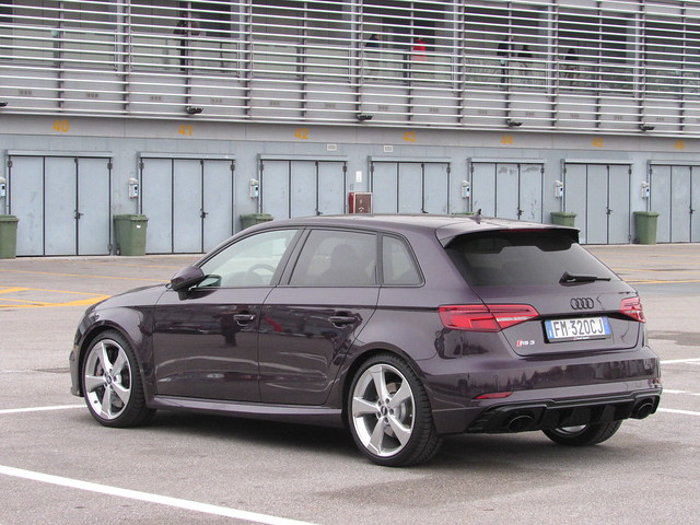 Audi RS3 in exclusive colour