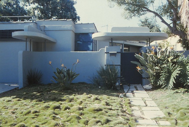 1936 Streamline William Kesling  house for Wallace Beery house