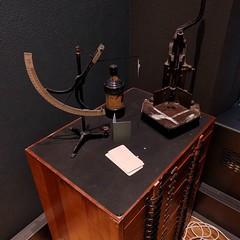 Analoge rondehoekalizer in Grafisch Museum Groningen
