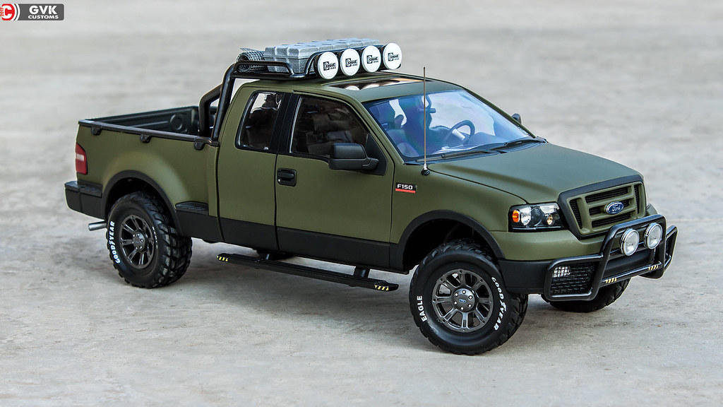Custom F 150 >> Ford F150 Custom 1 18 Beanstalk Gvk Customs Gaurav S