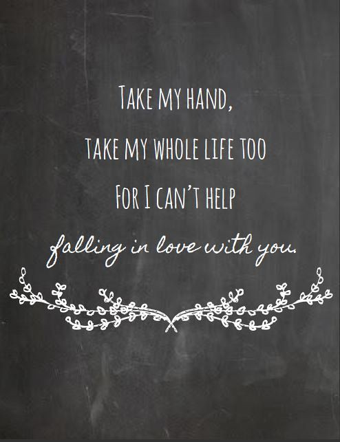 Quotes About Love Love Quote Take My Hand Take My Who Flickr