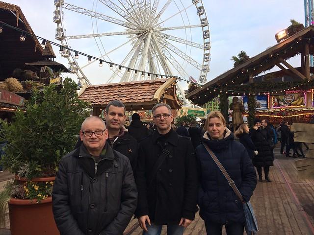 Jos, Ron, Rob & Astrid / Winter Wonderland / Londen