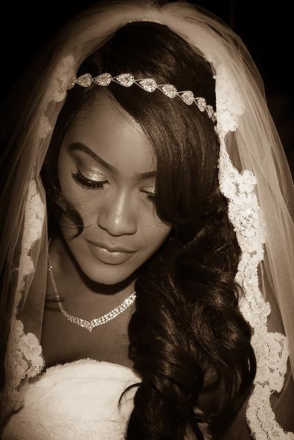 Sepia Bride