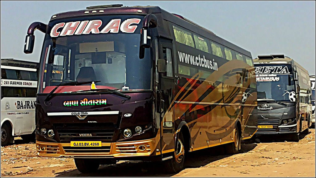 Chirag Travel And Neeta Travel Ac Sleeper Coach Bus Flickr