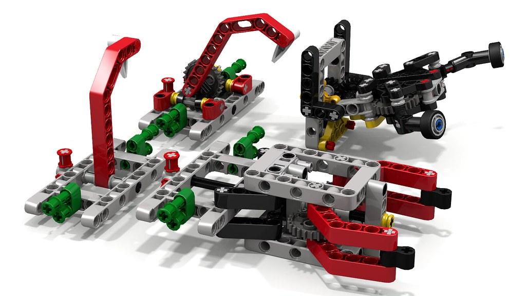 Attachments for Lego EV3
