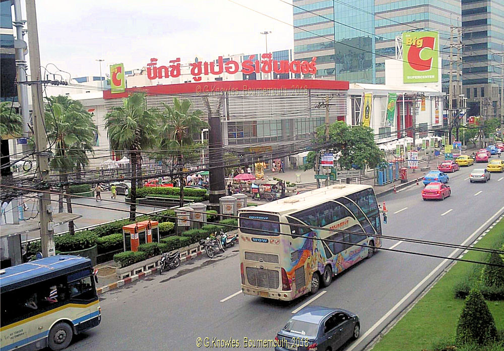 Big C shopping mall next to Central City Shopping mall as … | Flickr