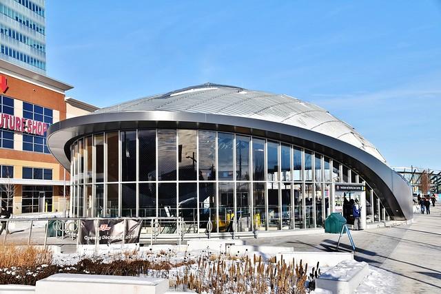 TTC Vaughan Metropolitan Centre Station, Vaughan, York Region, ON