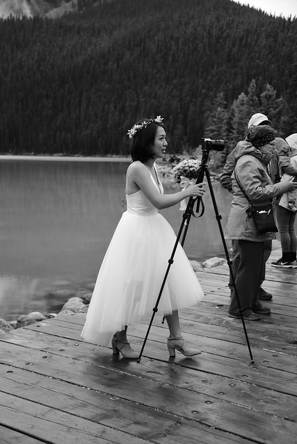 Bride as Photographer