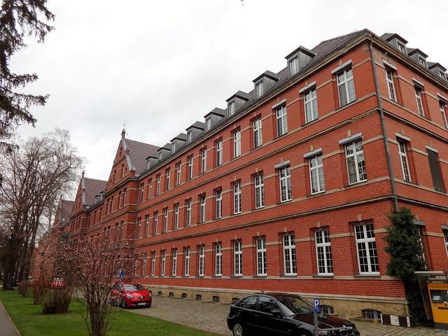1891/93 Berlin katholisches St. Joseph-Krankenhaus Weißensee von Otto Lindner Gartenstraße 1-5 in 13088 Weißensee