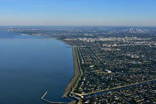 New Orleans and Lake Pontchartrain | by pedrik