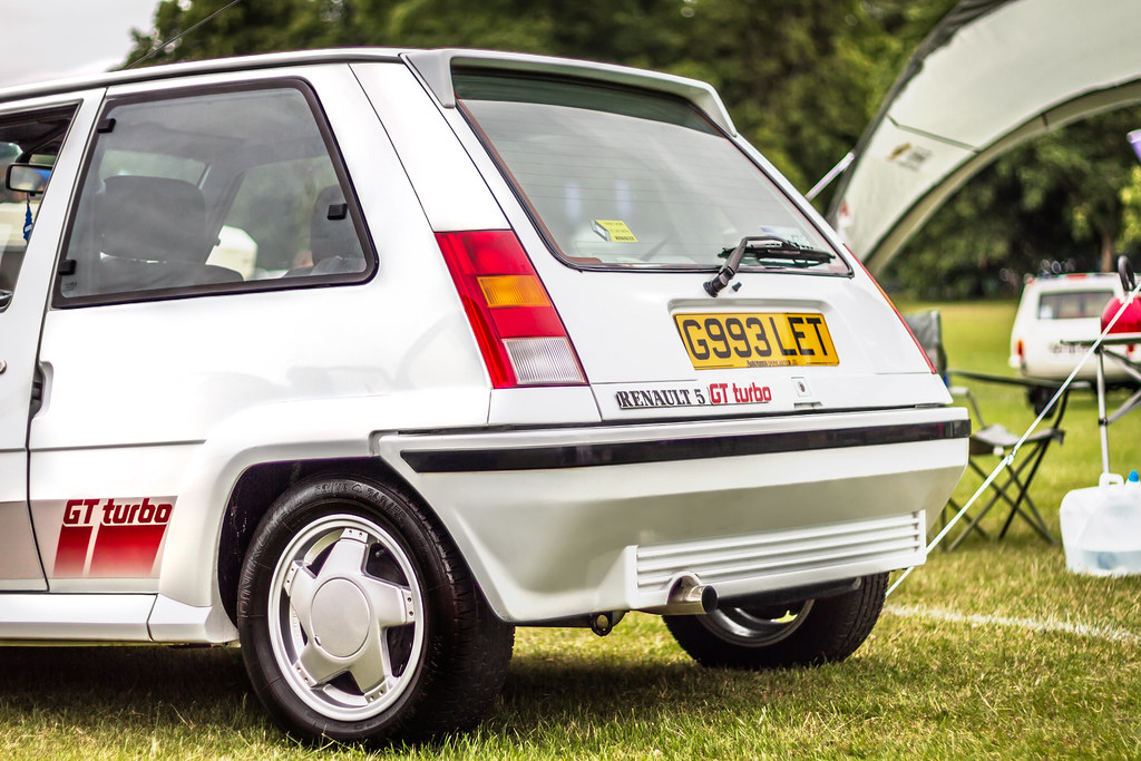 1990 White Renault 5 Gt Turbo Rear A Hot Hatch Version Flickr