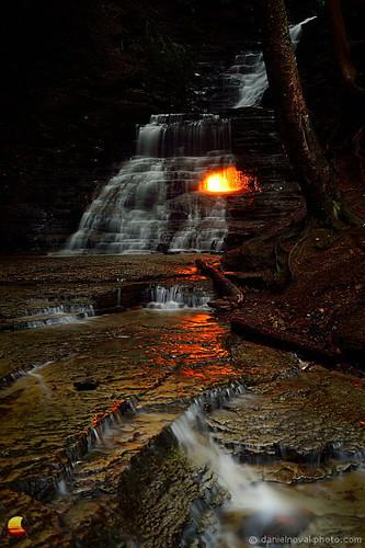 ny nature water wonder outdoors fire waterfall buffalo natural hiking magic falls flame element eternalflame westernnewyork orchardpark chestnutridge etbtsy