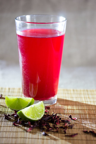 Agua de Jamaica - Hibiscus Punch | by FoodCraftLab