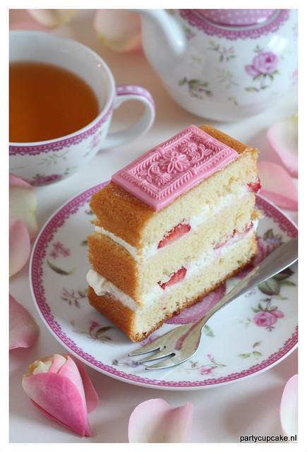 Springerle Aster Cake