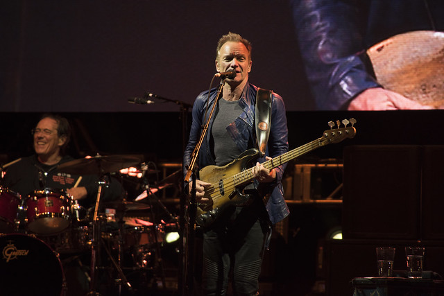 Sting, Oracle Appreciation Event 2016